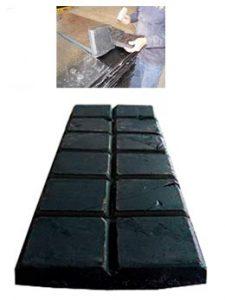 Tableta de asfalto de 80 kgs
